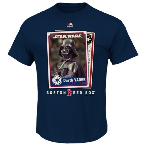 Majestic Other - Boston Red Sox Darth Vader T-shirt